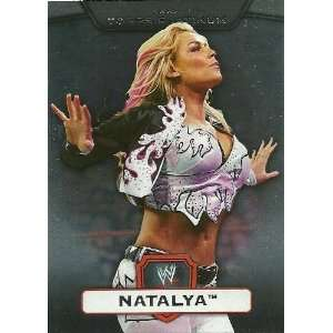 2010 Topps Platinum WWE #68 Natalya: Everything Else