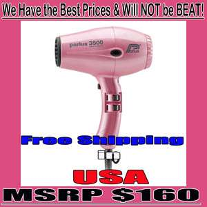 Parlux 3500 Super Compact Hair Dryer #1 Used by Professionals MSRP$160