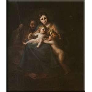 Family 14x16 Streched Canvas Art by Goya, Francisco de