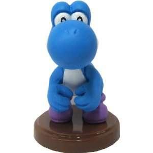 25   2 [Super Mario Choco Egg Mini Figure   NO CANDY]   Blue Yoshi