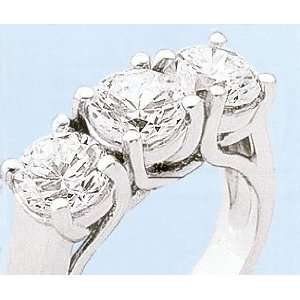 VVS1 diamond engagement ring White gold diamond
