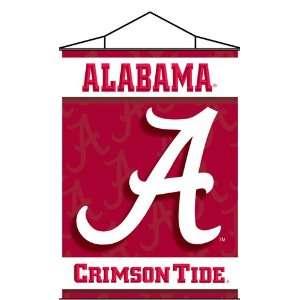 Alabama Crimson Tide UA NCAA Indoor Banner Scroll