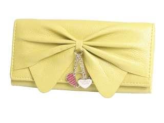 new fashion lady women long korean bowknot handbag clutch Wallet/Purse