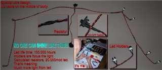 16 E REVO VXL Bright Led Light Kit, Set (6 LED)