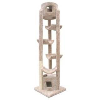 Whisker World Stairway to Heaven Cat Furniture, Beige Pet Supplies