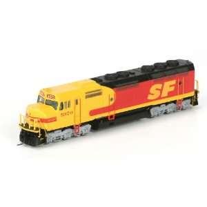 Athearn N Scale Locomotive RTR F45, SF/Kodachrome #5970 Toys & Games