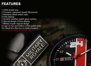 Canvas Strap Quartz Mens Man Military Army Sport Wrist Watch