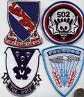 ARMY WW2 WWII VIETNAM PATCH 502 AIRBORNE INFANTRY SKULL