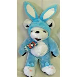 GRATEFUL DEAD 14 INCH BLUE HARE BEAN BEAR STUFFED ANIMAL: Toys & Games