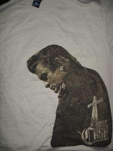 JOHNNY CASH Profile w/ Cross T Shirt *NEW