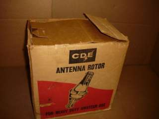 NEW CDE ANTENNA ROTOR HAM II ROTOR CD44 IN BOX