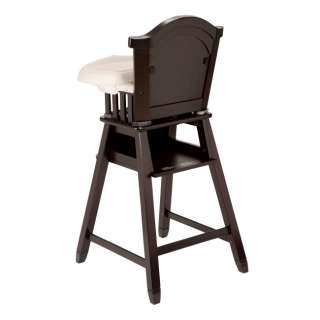 Eddie Bauer Classic Wood Baby/Child/Toddler High Chair   Evergreen