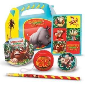 Donkey Kong Party Favor Box Party Supplies Toys & Games