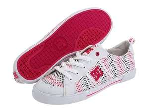DC Shoes Womens Fiona shoes sneakers trainers White 6.5 10 NEW