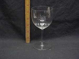 Polished Crystal Glass Long Stem Brummel Claret Wine Glasses 5¾