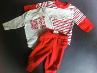 42 PC USED BABY BOY 6 12, 6 9, 9 12 MONTH INFANT CLOTHES LOT 12 M