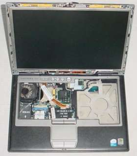 Dell Latitude D620, Motherboard + LCD + CPU, As Parts