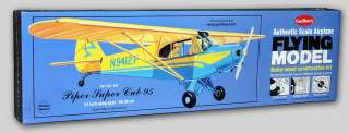 PIPER SUPER CUB 95 Civilian   Guillows Craftsman Balsa Kit #303 NEW