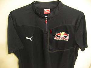 Used 2XL Team Red Bull Racing Puma Pit Crew Shirt Nascar BMX XGames MX