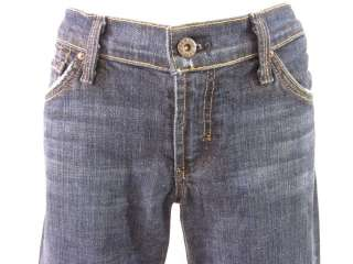 DRY AGED DENIM Dark Wash Flare Leg Jeans Pants Size 29