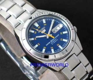 SEIKO MEN AUTOMATIC NAVY BLUE SNKF57 WATCH SNKF57J1 JAPAN