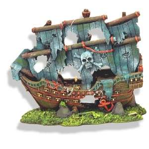Pirate Ghost Ship 1521 ~ aquarium ornament fish tank decoration