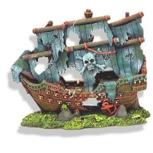 Pirate Ghost Ship 1521 ~ aquarium ornament fish tank decoration
