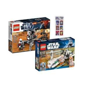 LEGO Star Wars Set 9488 ARC Trooper u 7913 Clone Trooper Battle Pack