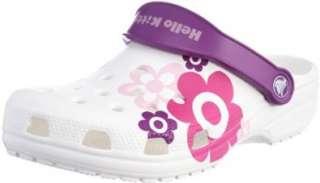 Crocs Classic hello Kitty Flowers, Damen Clog  Schuhe