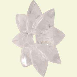 Mirror Rosette, Star Pattern, Clear Acrylic R 7215