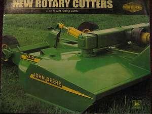 John Deere 509 609 709 Rotary Cutter Mower Parts Catalog