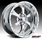 20 BMF NOVAKANE CHROME RIMS & 35X12.50X20 NITTO TRAIL GRAPPLER MT