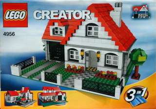 LEGO Creator Bauplan 4956 House Variante 3