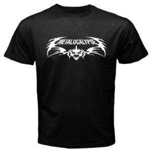 New Dethklok Metalocalypse Black T Shirt Tee All Size