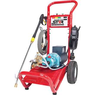 NorthStar Electric Cold Water Pressure Washer 3000 PSI 2.5 GPM 230V