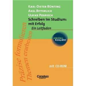 Axel Bitterlich, Prof. Dr. Karl Dieter Bünting, Ulrike Pospiech