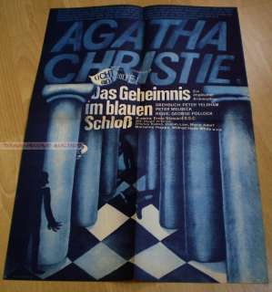 AGATHA CHRISTIE   TEN LITTLE INDIANS*EAST GERMAN POSTER