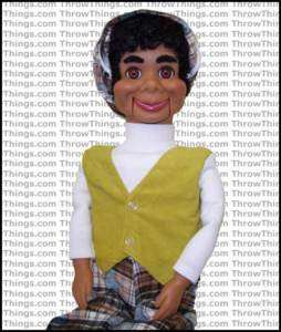 Lester Super Deluxe Upgrade Ventriloquist Dummy Doll Puppet Moving