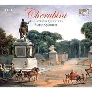 Cherubini String Quartets Melos Quartett, Luigi Cherubini