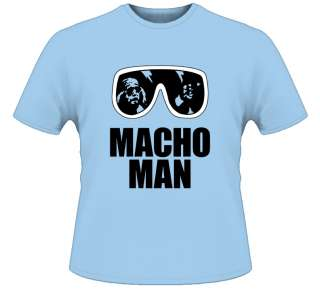Macho Man Randy Savage Classic T Shirt