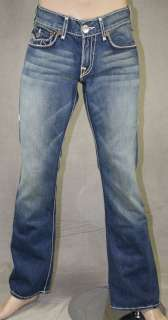 Mens True Religion Jeans BILLY Giant Big T Med Savanna 24858NMGBT