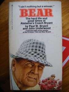LIFE & TIMES OF COACH BEAR BRYANT~BEAR~ALABAMA~FOOTBALL
