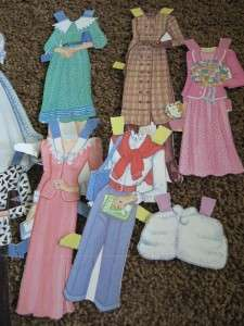 1985 Western Publishing Princess Diana Paper Doll Set