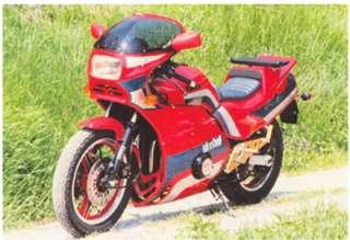 Gimbel Fussrastenanlage für Kawasaki GPZ 1100 uni trak