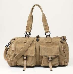 NEW Vintage Canvas Casual Duffle Travel Bag Luggage Gym Sports Bag