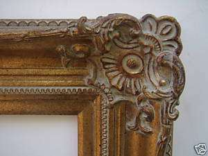 Picture Frame Wide Antique Victorian Gold Ornate 36x48
