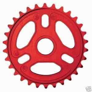 SHADOW CONSPIRACY LIGHTER 24T SPROCKET BMX BIKE RED NEW