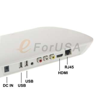 Full HD 1080P HDMI Android2.2 Internet TV Box HDD Media player Ship by