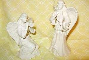 Vintage Lenox China Eternal Series Angels Violin & Horn