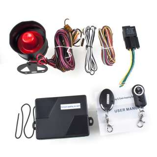 speaking car auto Automatic arming alarm system voice warning